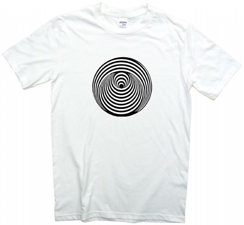 Vertigo Swirl Record Label T shirt 12 Sizes. Pop Rock Music Tee